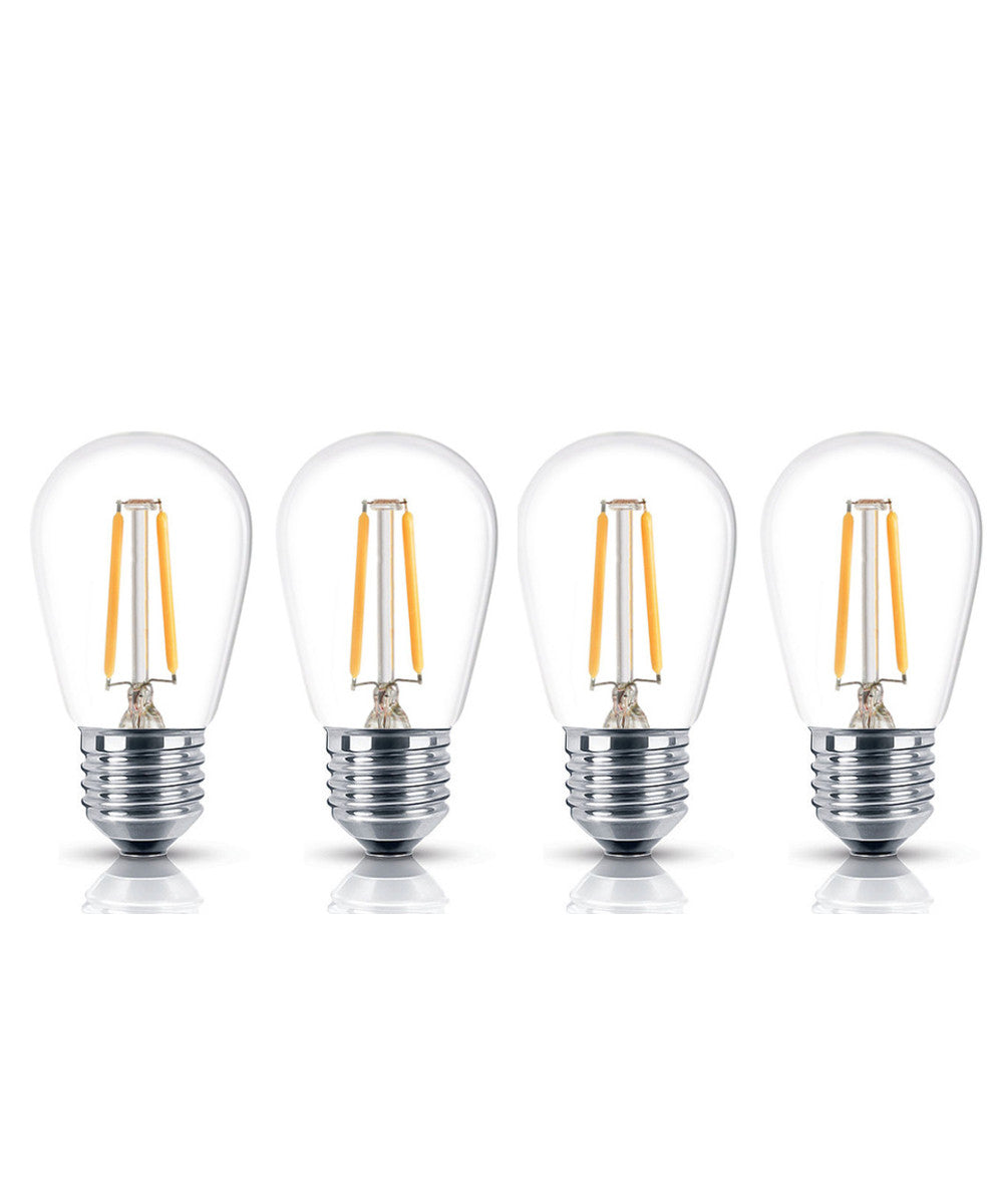 S14  4-Pack LED Bulbs 1.5w