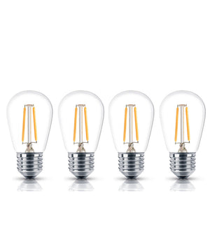 "2""W 4-Pack LED Bulbs Starry Night Collection"