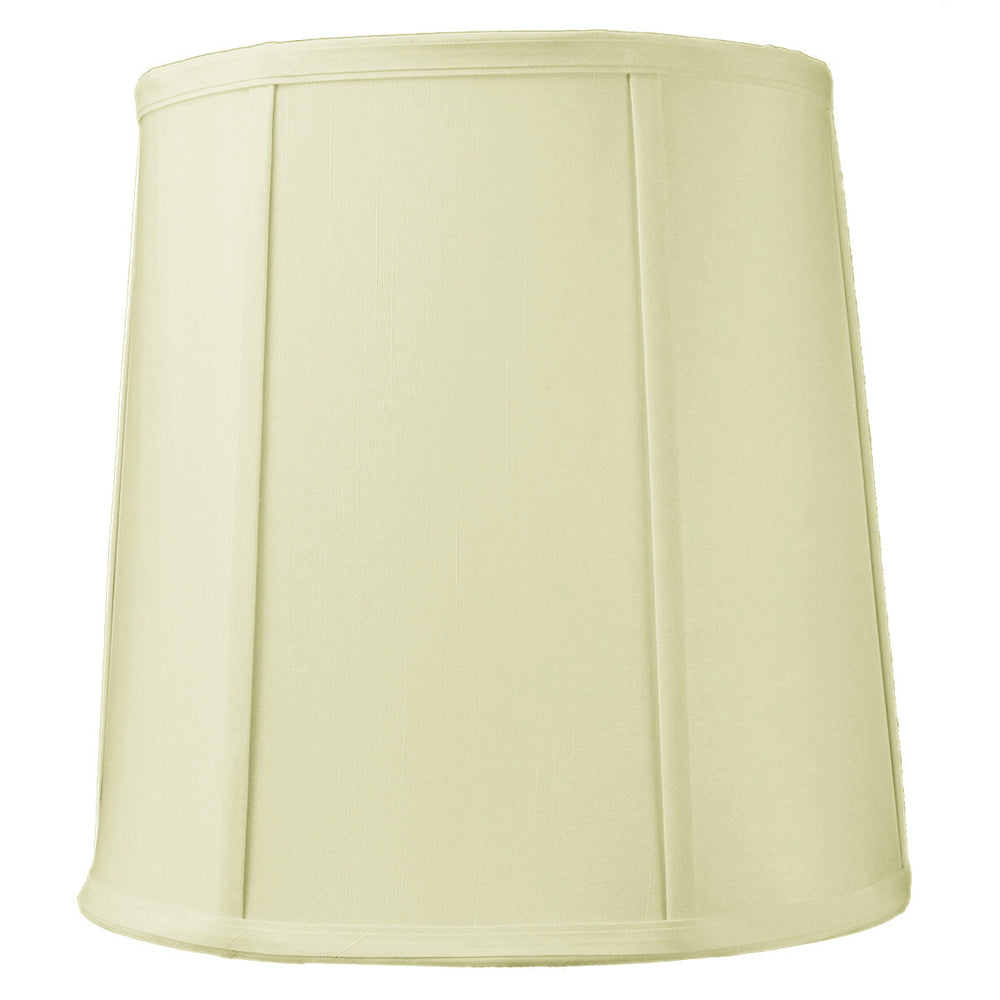 "12""W x 12""H Egg Shell Shantung Drum Lampshade"