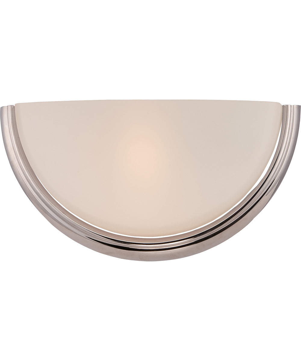 "13""W Dylan 1-Light Vanity & Wall Polished Nickel"