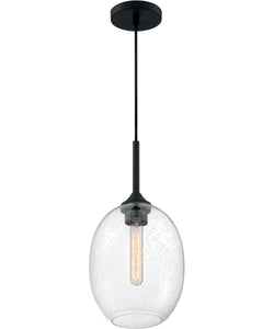 Aria 1-Light Pendant Matte Black
