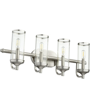 "26""W Collins 4-light Bath Vanity Light Satin Nickel"