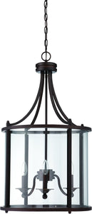 Carlton 3-Light Pendant Light Aged Bronze