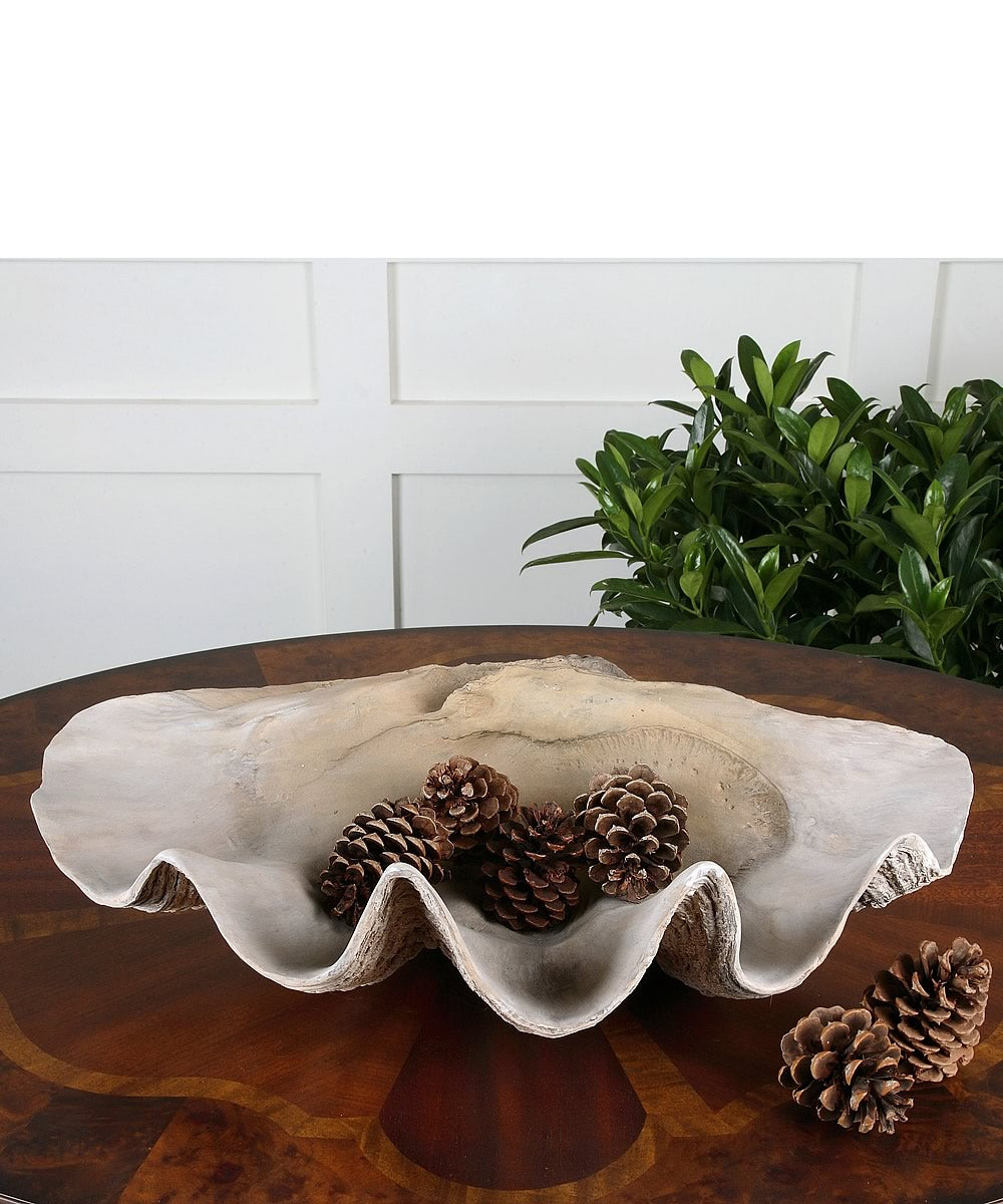 "7""H Clam Shell Bowl"