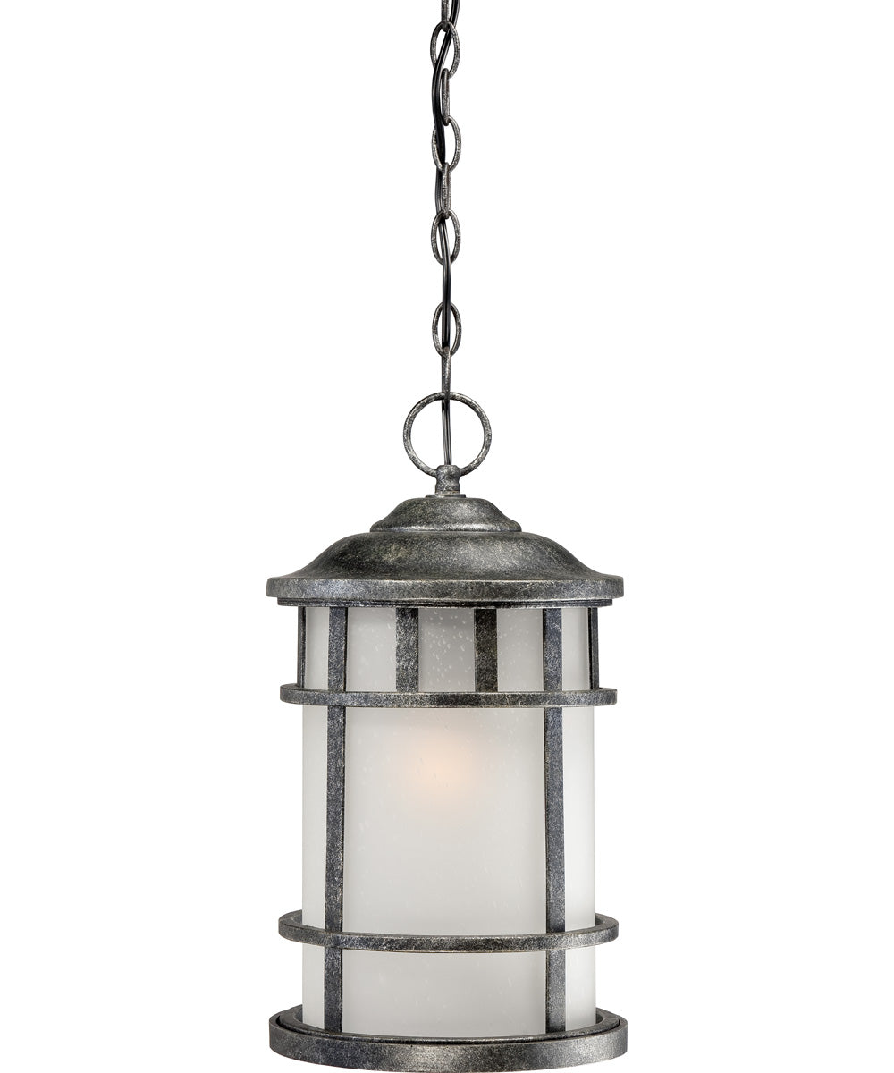 "10""W Manor 1-Light Outdoor Aged Silver"