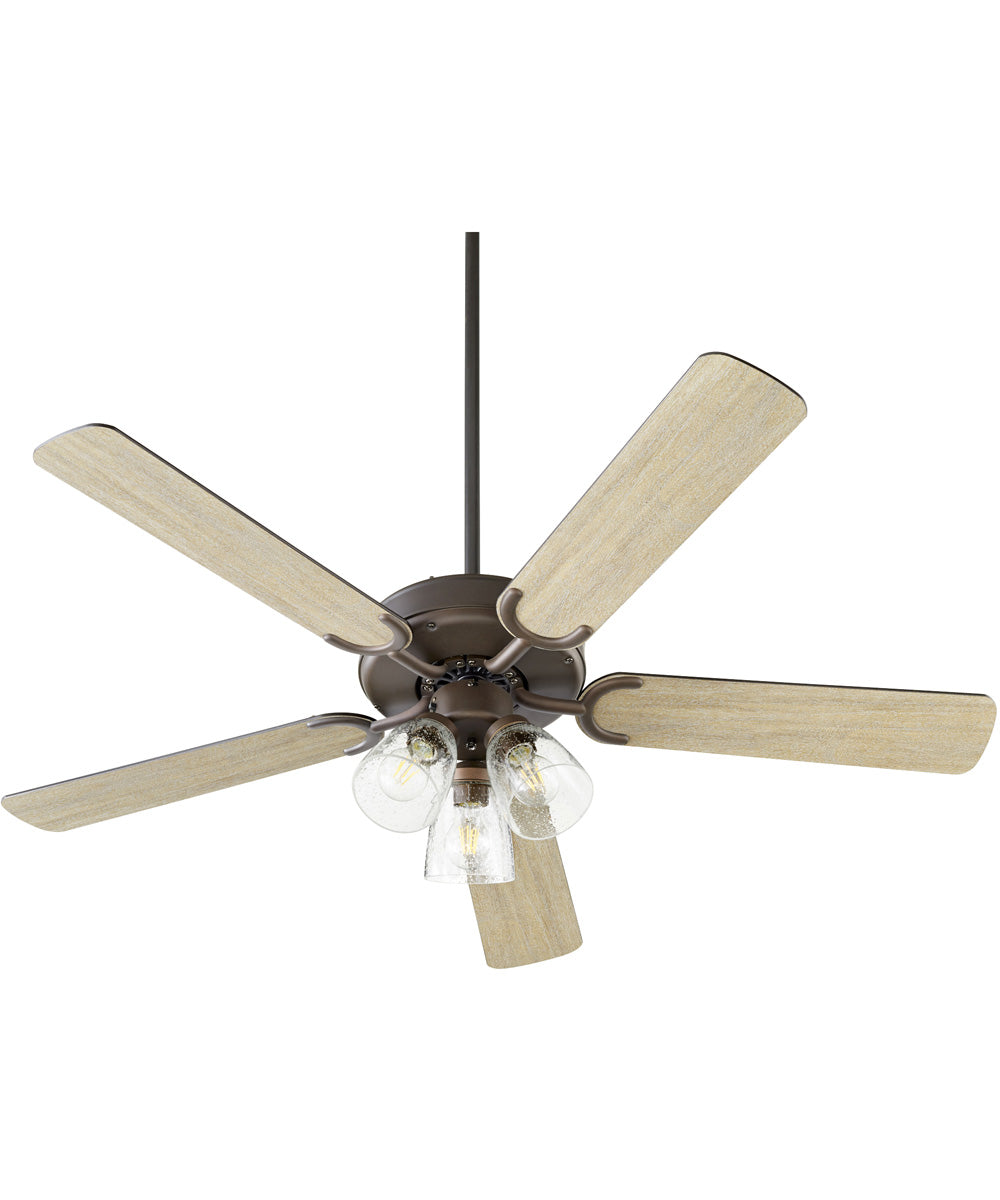 Virtue 3-light LED Ceiling Fan Oiled Bronze