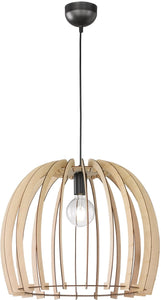0-001865>Wood 1-Light  Pendant  Wood