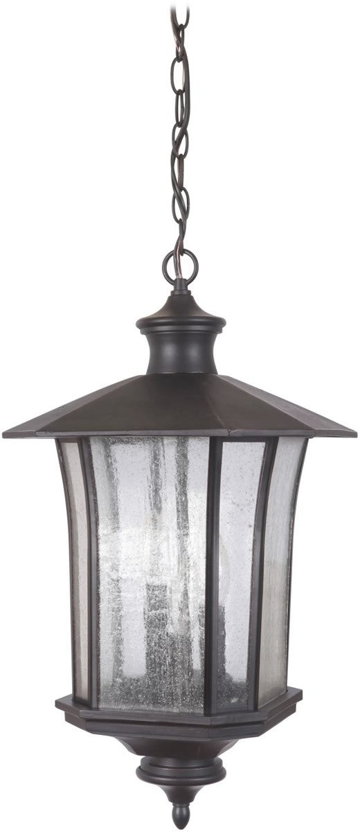 Chateau 3-Light Outdoor Pendant Oiled Bronze Gilded