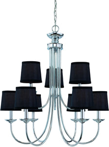 0-007561>Spencer 9-Light Chandelier Chrome