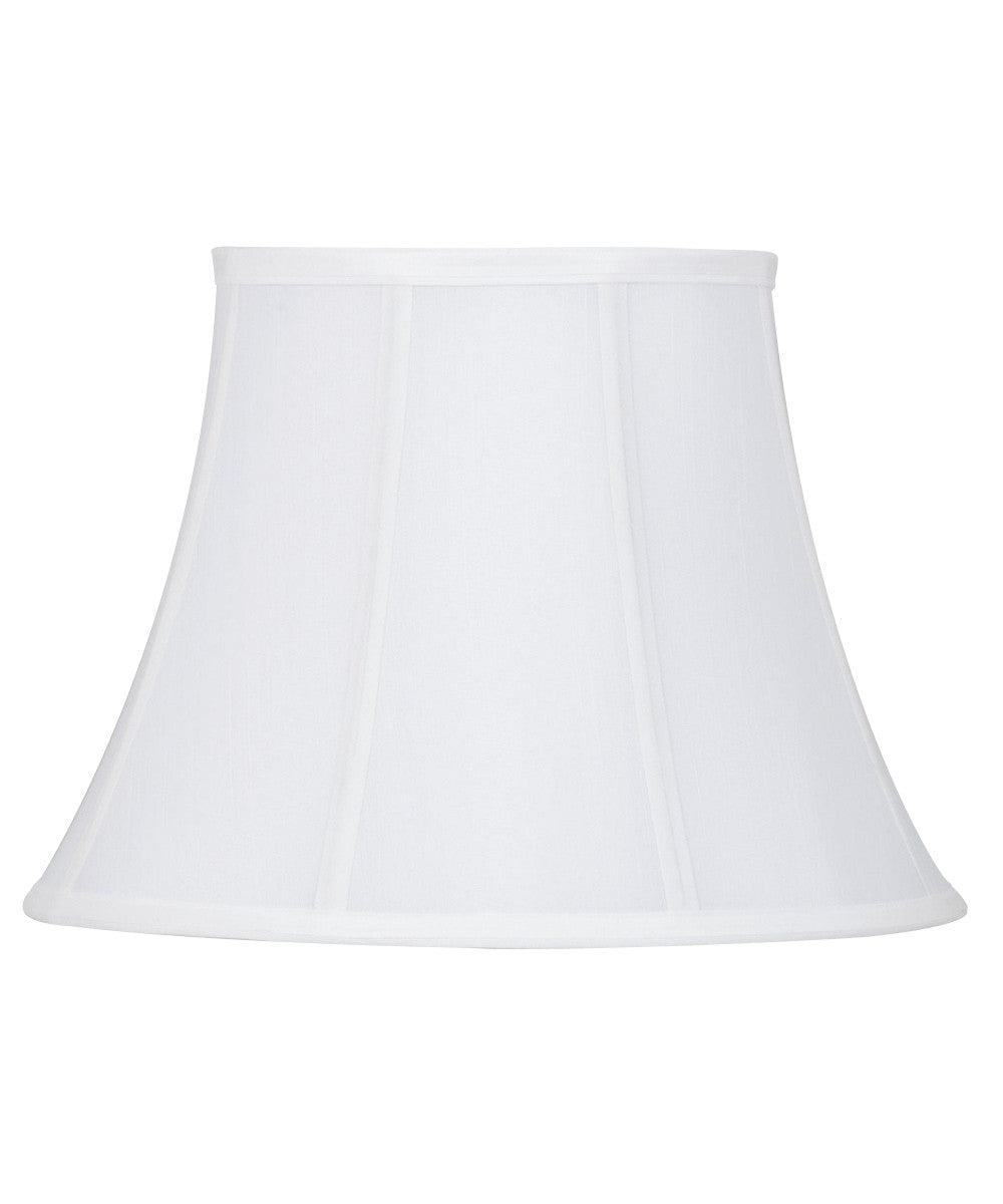 "15""W  x 11""H Bright White Empire Lamp Shade"