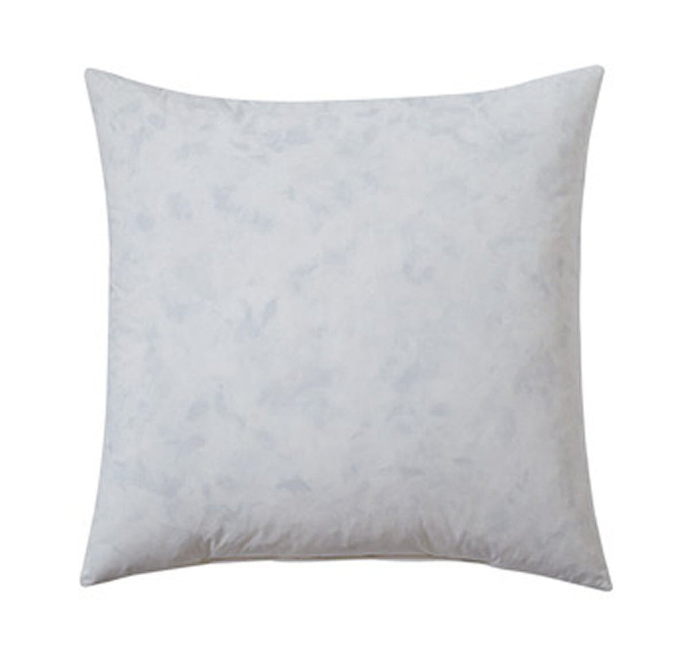 "22""W Feather-fill Medium Pillow Insert White"