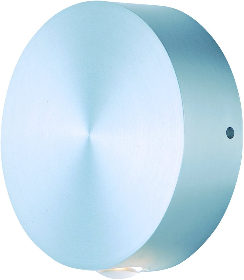 Alumilux LED Outdoor Wall Sconce Satin Aluminum