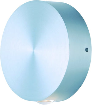 "5""H Alumilux LED Outdoor Wall Sconce Satin Aluminum"