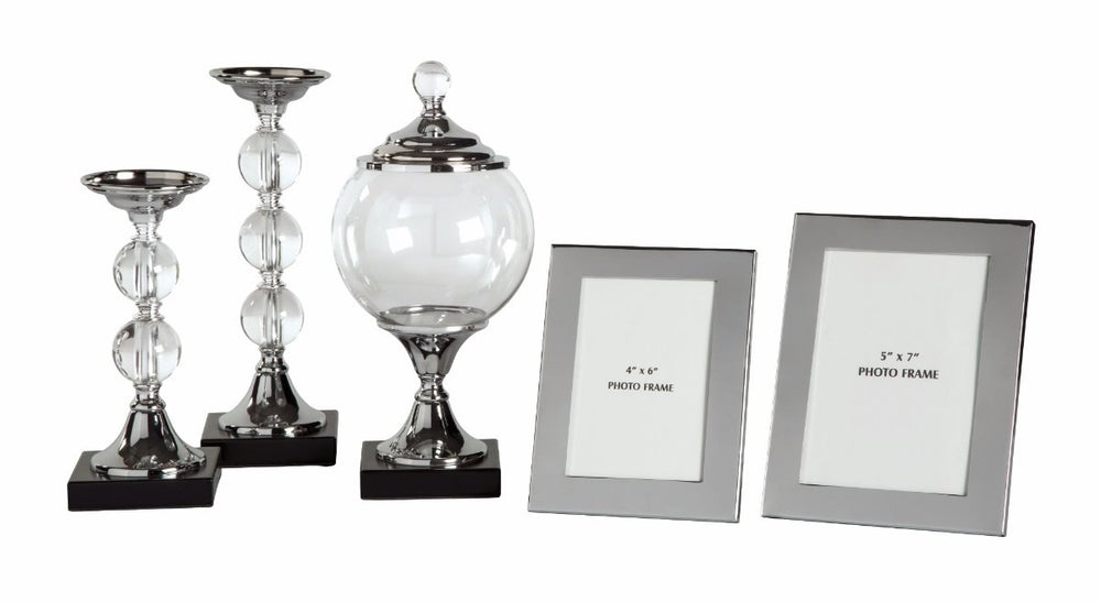 Diella Accessory Set (Set of 5) Silver