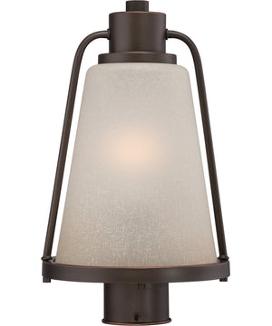 "15""H Tolland 1-Light Outdoor Mahogany Bronze"