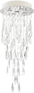 0-002185>Lorelle 5-light Chandelier Chrome