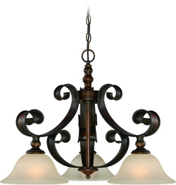 0-007705>Seville 3-Light Breakfast Nook Spanish Bronze