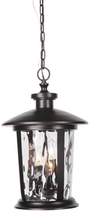 0-012790>Summerhays 3-Light Outdoor Pendant Oiled Bronze Gilded