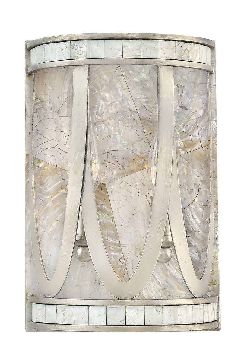 Sirena 2-Light Two Light Sconce in Champagne Gold