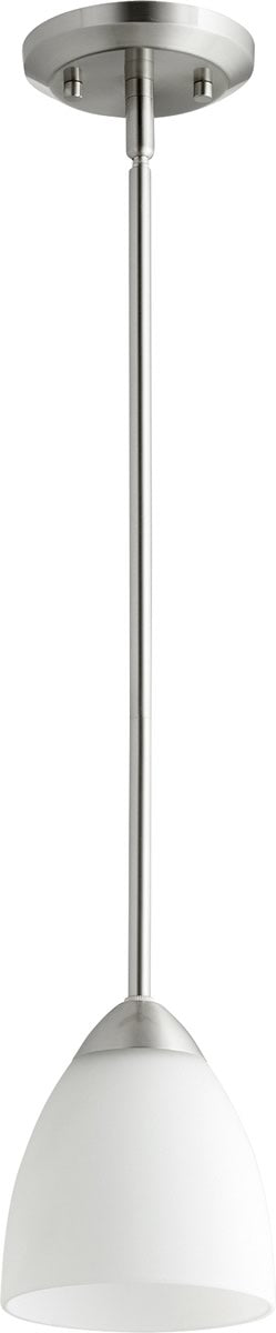 "6""W Barkley 1-light Pendant Satin Nickel"