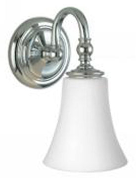 "OPEN BOX 5""w Dover Wall Sconce Chrome"