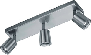 "4""W Cayman LED Wall/Ceiling Light Nickel-Matte"