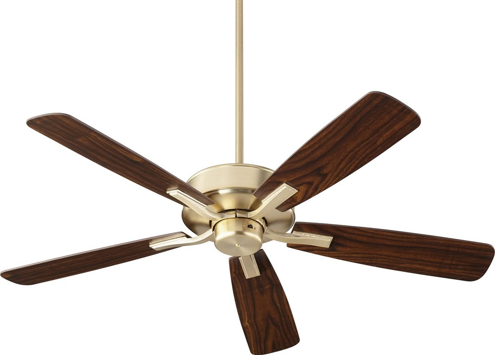 "52""W Villa Ceiling Fan Aged Brass"