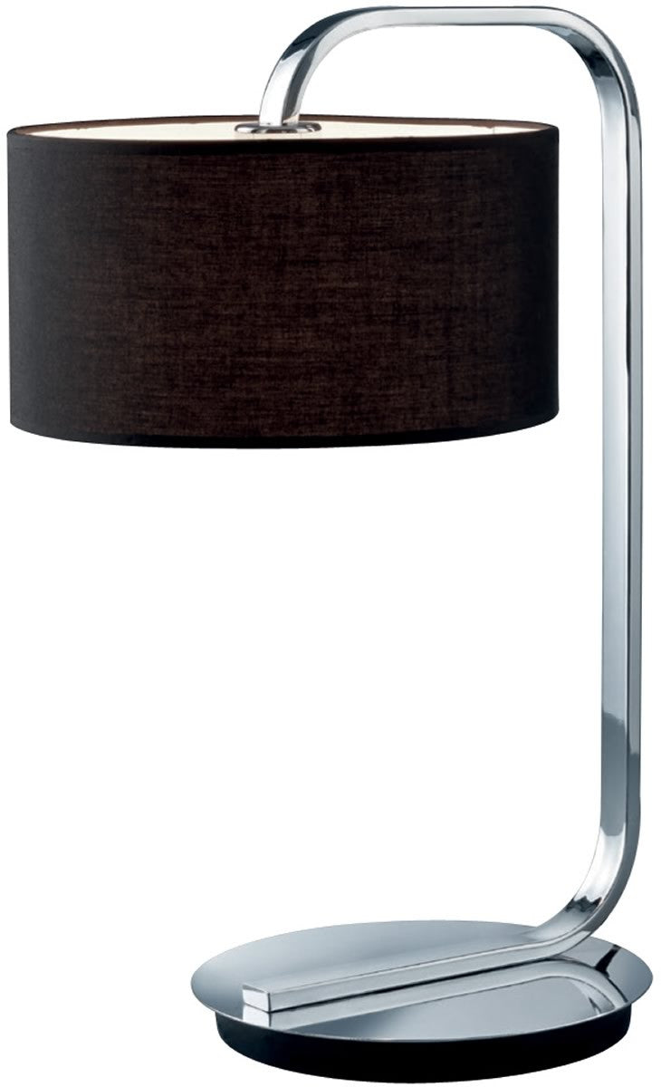 "21""H Cannes 1-Light  Table Lamp  Chrome"