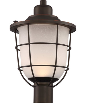 "18""H Bungalow 1-Light Outdoor Mahogany Bronze"