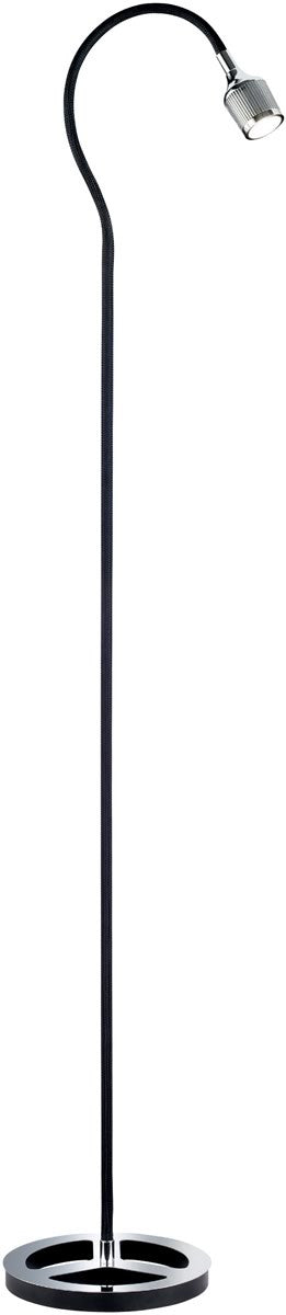 Mamba LED Arched Floor Lamp Black
