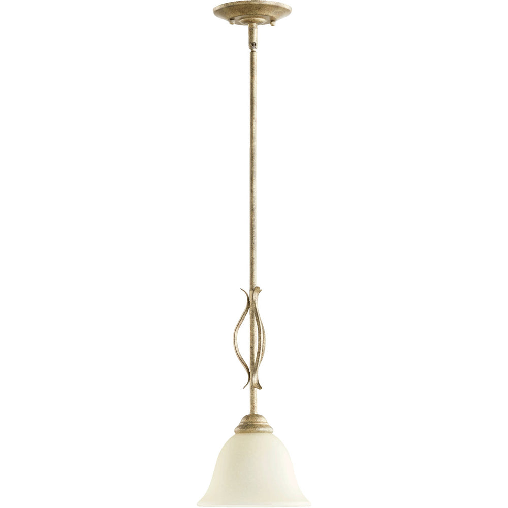 OPEN BOX Spencer 1-Light Pendant Mystic Silver