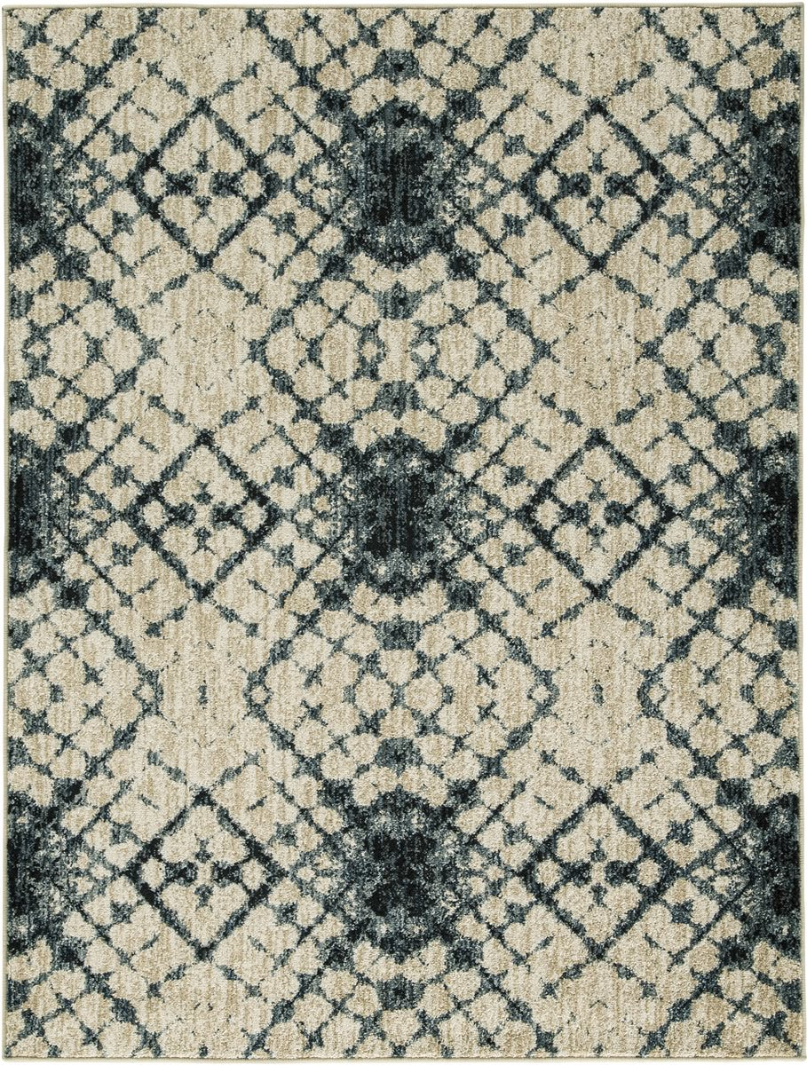 Catheryn Large Rug Blue/Ivory