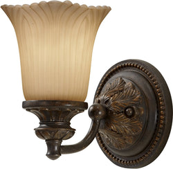 0-024827>Emma 1-Light Bath Vanity Light Grecian Bronze