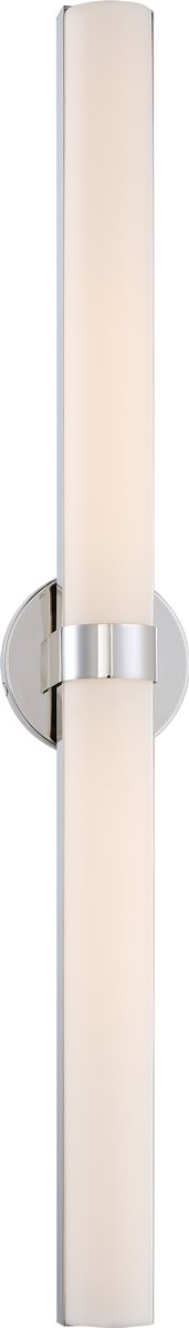 "6""W Bond 2-Light Vanity & Wall Polished Nickel"