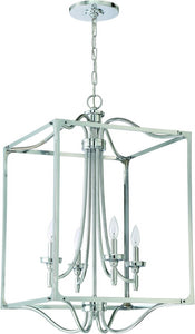 0-000289>Sophia 4-Light Foyer Light Chrome