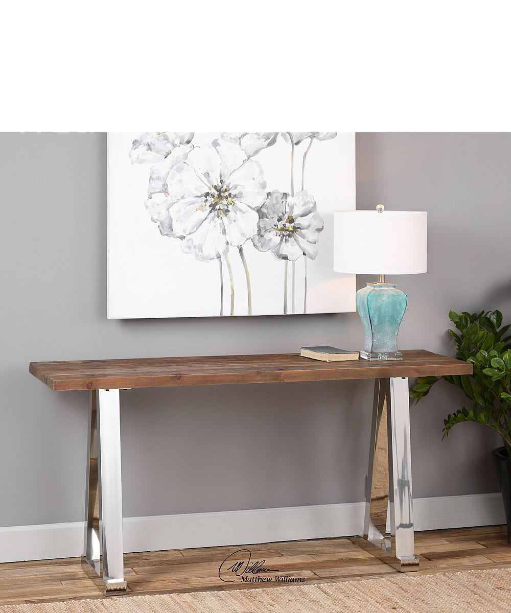 "30""H Hesperos Wooden Console Table"