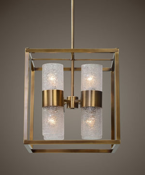 "18""W Marinot 8 Light Cube Pendant"