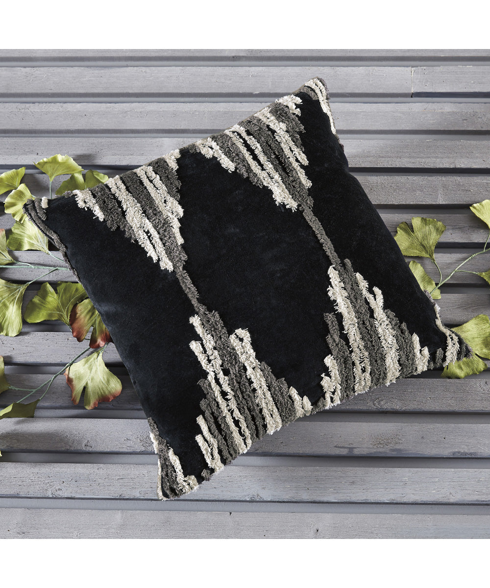 "20""W Waiden Pillow Set of 4 Charcoal"