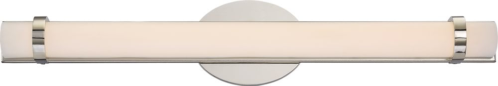 "5""W Slice 1-Light Vanity & Wall Polished Nickel"