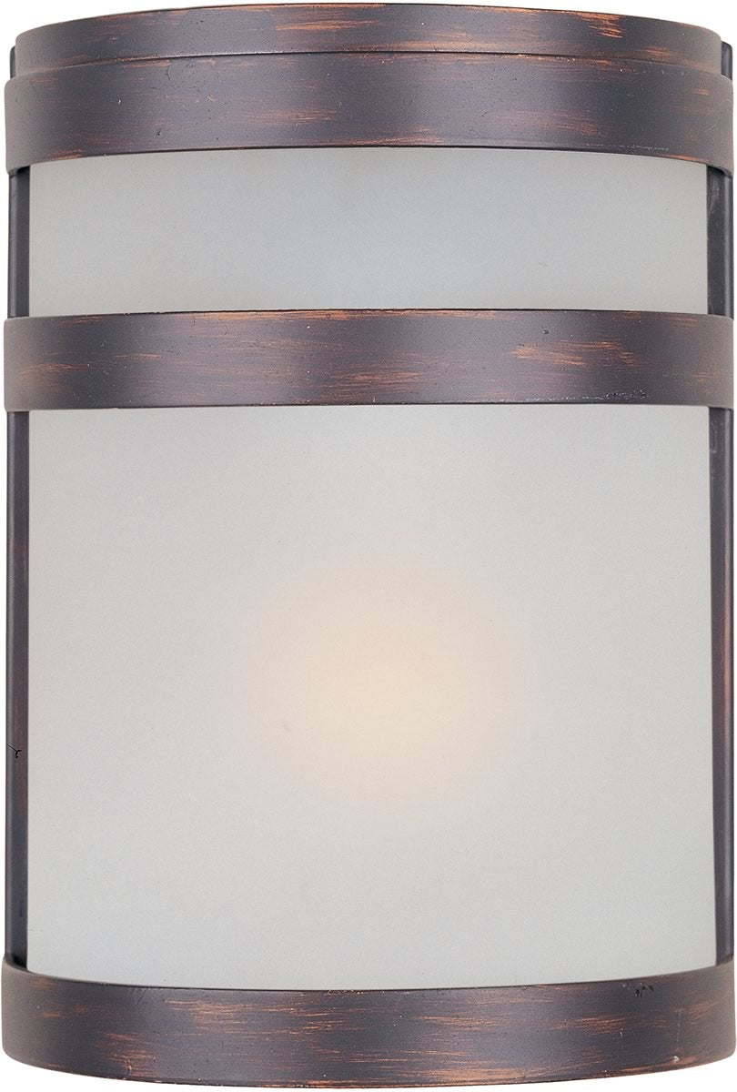 "9""H Arc 1-Light LED Outdoor Wall Lantern Oil Rubbed Bronze"