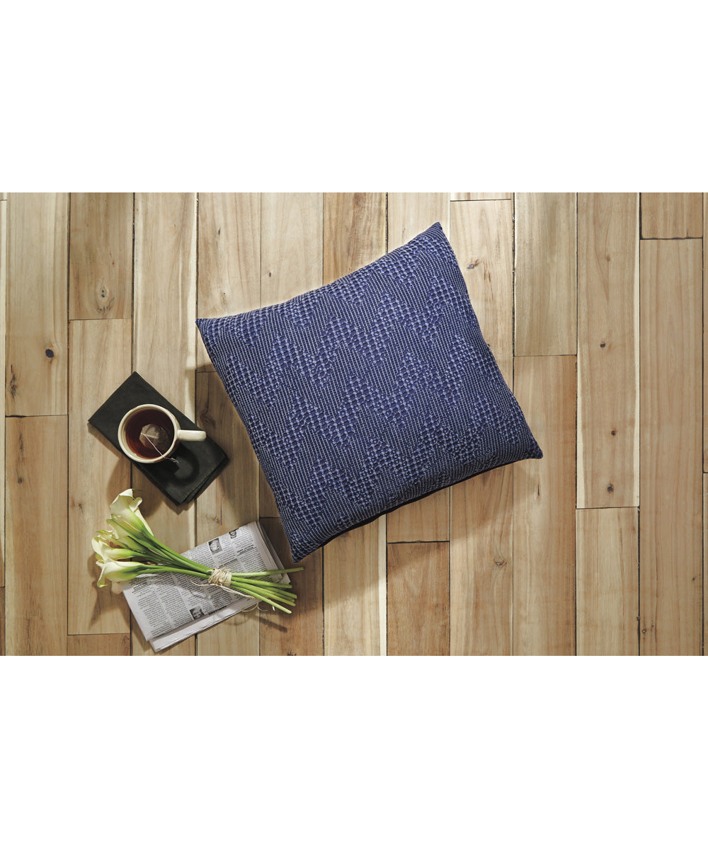 "20""W Dunford Pillow Set of 4 Navy"