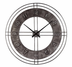 Ana Sofia Wall Clock Antique Gray