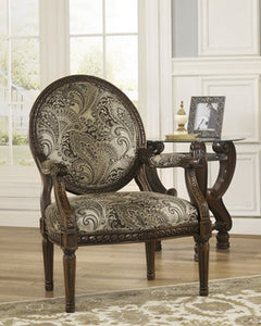 Martinsburg Showood Accent Chair Meadow
