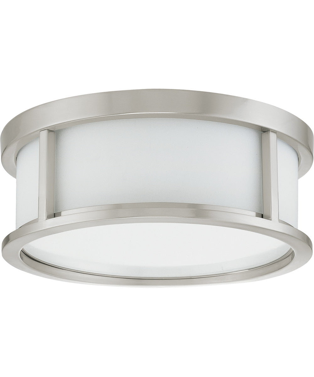 "13""W Odeon  Close-to-Ceiling Brushed Nickel"