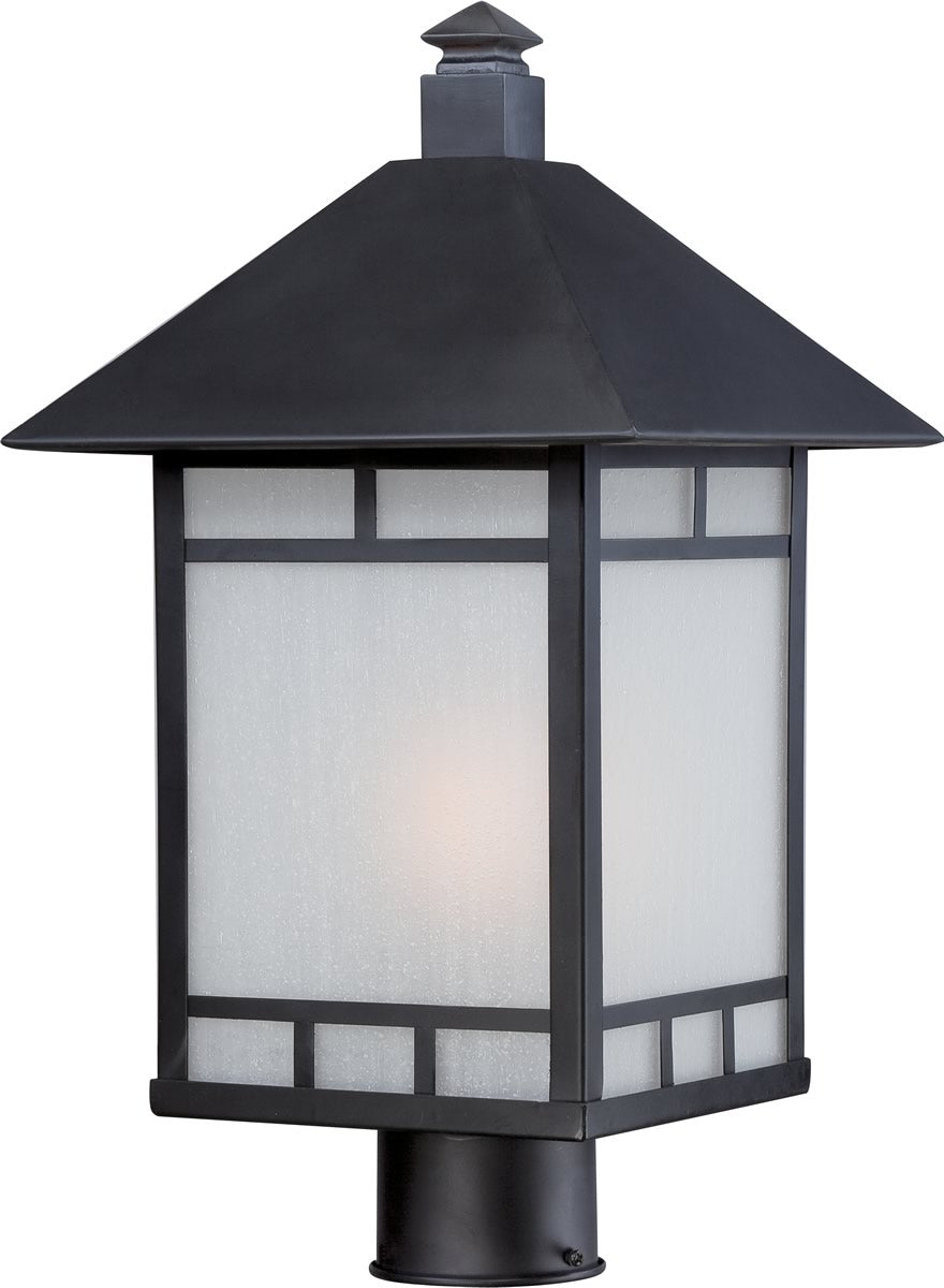 "18""H Drexel 1-Light Outdoor Stone Black"