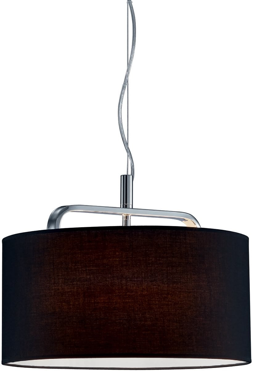 Cannes 1-Light  Pendant  Chrome