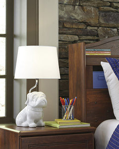 Avel Ceramic Table Lamp White