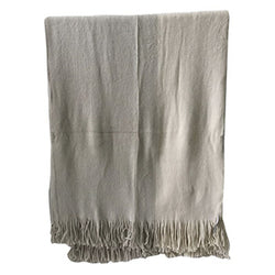 Haiden Throw Ivory/Taupe