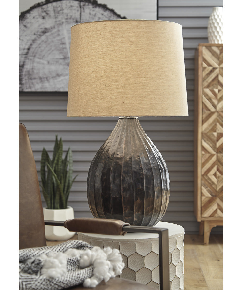 "29""H Marloes Metal Table Lamp (1/CN) Copper"