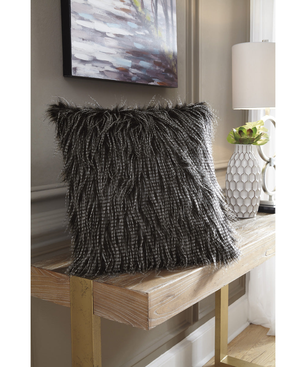 "20""W Ryley Pillow Set of 4 Black"
